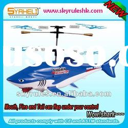 RC Shark R/C Fish RC mini helicopter Radio Control Gift