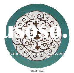 Round Metal Wall Art Decor Sculpture