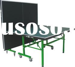 SJ-203Single Folding Table Tennis Tables,Movable Facilities of table tennis
