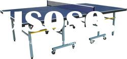 SJ-208 Single Folding Table Tennis Table,Movable Ping pong Tabel,Indoor Portable Tennis Table