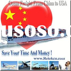 Shipping Freight To USA From China