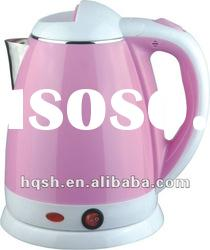 Stainless Steel Electric Kettle With Plastic Housing
