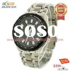 Stainless steel fashion men watches with dial colours