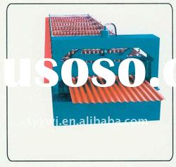 TY13-65-850 Automatic corrugated roof or wall board cold roll forming machine