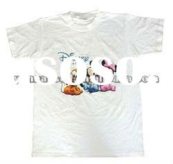 The new latest 3D image Vivid animal head pattern T-shirt printing machine