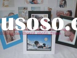 The simple recycled acid free cardboard easel photo frame 4x6 ,5x7,8x10