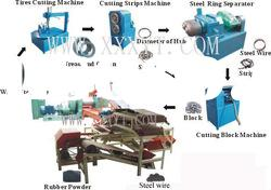 Tire/Tyre Pyroplysis Processing Machine/Plant