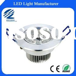 Transparent High power led ceiling lamp 3w