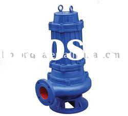 Type WQ non-clogging submersible sewage pumps
