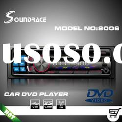 Video output car DVD player compatible MP3/MP4/WMA format S8006