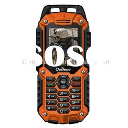 Waterproof Quad-Band Dual-Sim Full color Screen Rugged mobile phone