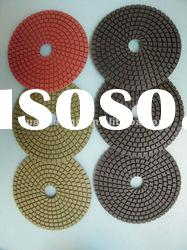 Wet Diamond Polishing Pad ,Dry Polishing Pads for Granite,Marble (100mm)