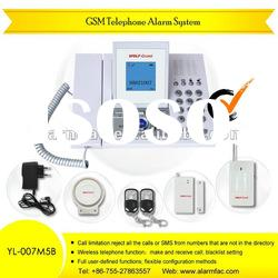 Wireless GSM Home Alarm System with Telephone Function