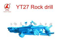 YT27 air leg hand held rock drill