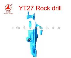 YT27 air leg hand held small rock drill