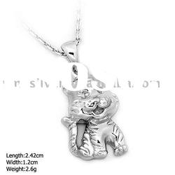 [DZ-878] 925 Silver Jewelry, Sterling Silver Pendant without MOQ, Tigerkin Silver Pendant