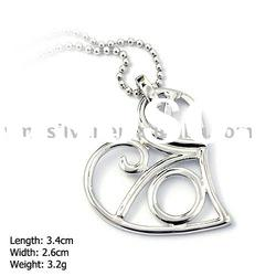 [DZ-898] 925 Silver Jewelry, Sterling Silver Pendant without MOQ, Heart Silver Pendant