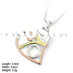 [DZ-899] 925 Silver Jewelry, Sterling Silver Pendant without MOQ, Heart Silver Pendant
