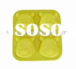animal silicone cake mould in bear shape