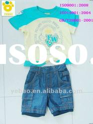 baby cotton clothing sets summer wear short sleeve