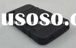 black PLASTIC HOLDER bracket stand case protector cover for APPLE IPHONE 4 G 4S 4GS