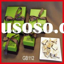 bow tie gift box with ribbon design