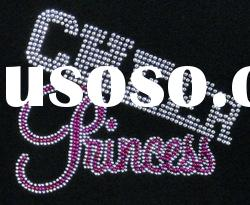 cheer princess hot fix crystal rhinestones
