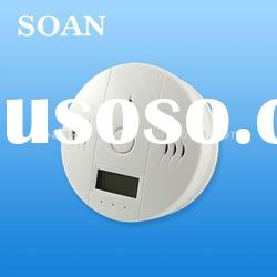 co detector gas sensor carbon monoxide detector with lcd display