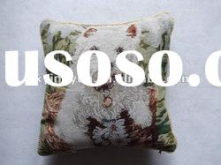 dog pattern Euramerican style tapestry sofa cushion cover