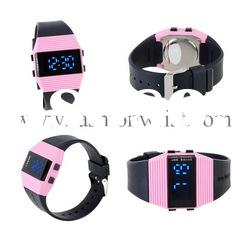 fashion Water-Resistant LED Sports Watch for hot sales