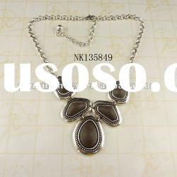 fashion jewelry hot sale zinc alloy necklace jewelry supplier