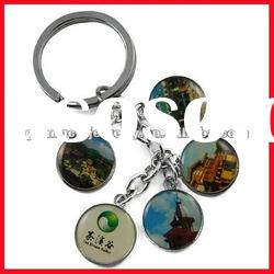 fashion keyring promotion key chain in gift