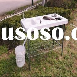 fish table outdoor, plastic blow molding table, outdoor table