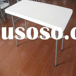 folding table, Regular dining table(Blow Molded Leisure Plastic Table)
