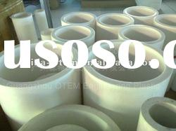 high machanical strength industrial engineering plastic PTFE white tube