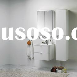 hot!! High Quality High Glossy Modern White Bathroom Cabinet Furniture Delrey-60A