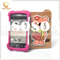 mobile phone case with belt clip for Blackberry curve 9380