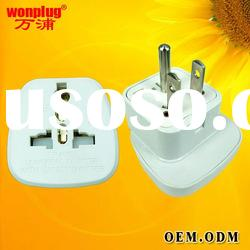 multi safe electrical travel metal plug&universal socket/multi safe adaptor plug/US 3 pin plug