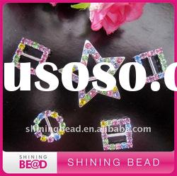 new design colorful rhinestone buckle
