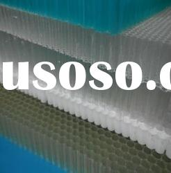 polycarbonte honeycomb panel material for yacht decorative accessories made in china