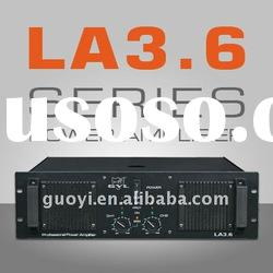 professional amplifier/stage amplifier/hifi amplifier/big power amplifier/ LA3.6