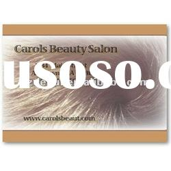professional hairdressing and beauty shop hair salon card