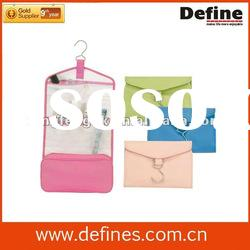 promotional womens hanging travel toiletry bag