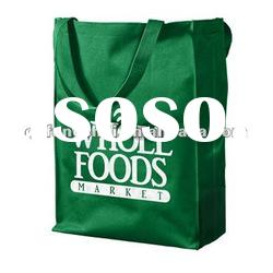 recycle degradable printed pp non woven shopping bags