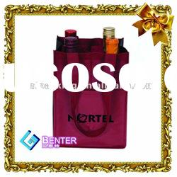 recycle non woven bag for wine