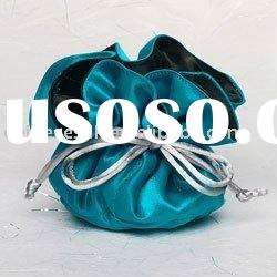 satin drawstring bag,satin jewelry pouch,bag