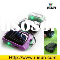 small solar battery charger for mobile phones, MP3,Mp4,etc
