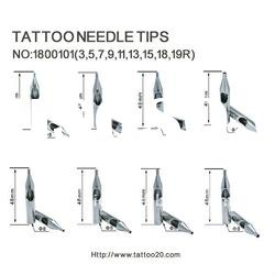 stainless steel tattoo tips