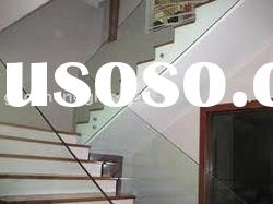 stair glass handrail glass