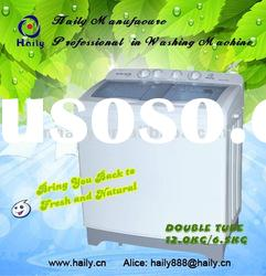 top loading/twin tub washing machine big washing machine 12kg/6.5kg